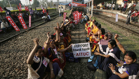 Biggest strike ever? 'Bharat Bandh' today, India braces for protest by trade unions   Asian Labour Update   Scoop.it