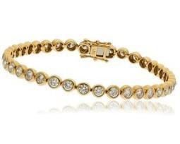 JB004 1 Carat Diamond Bracelet | Bespoke Diamonds | Engagement Rings Dublin | Scoop.it