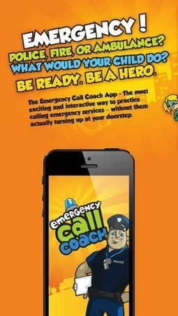 Emergency Call Coach - Cool App for Kids for Emergencies - Fun Educational Apps for Kids | Edtech PK-12 | Scoop.it