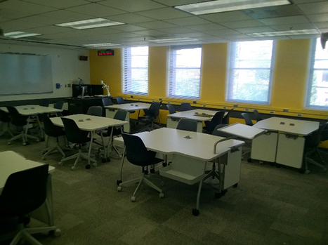U of Arizona Experiments With Multiple Classroom Configurations -- Campus Technology | Learning spaces and environments | Scoop.it