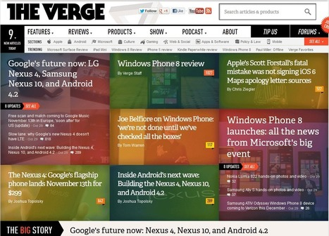 Top 10 Tech News Websites | Vuemix App | Scoop.it