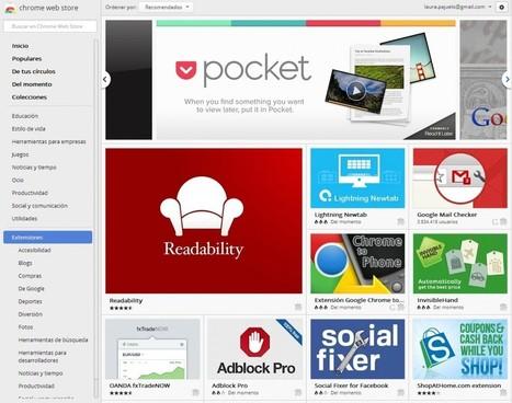 Las mejores extensiones educativas de Google Chrome - Educación 3.0 | TIC, Educación e Innovación | Scoop.it