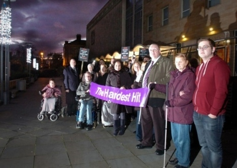 Disabled in protest against cuts to benefits - All News - Sunderland Echo | Disability Issues | Scoop.it