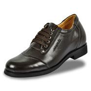 Black / Brown Men Elevator Dress Shoes look tall 7cm / 2.75inch | Elevator shoes for men | Scoop.it
