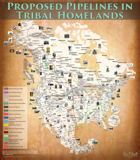 Brand new FREE Pipelines on Tribal Homelands Map! | ED262mylineONLINE:  Ethnicity, Race & Racism | Scoop.it