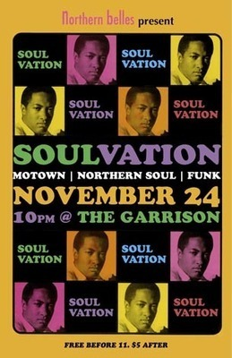 Soulvation, the soul and funk dance night ... | Nightlife | Scoop.it