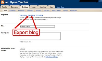 Free Technology for Teachers: How to Back-up Your Blog and Why You Should | My Scoops | Scoop.it