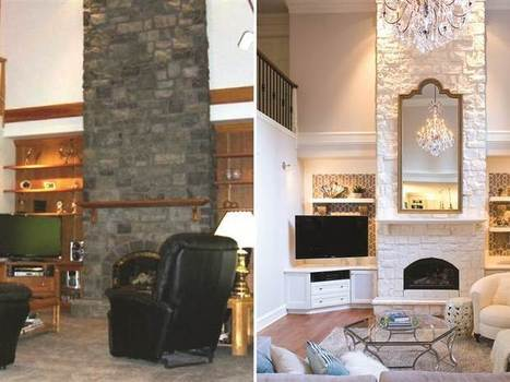 Living room makeovers: Interior designers share before-and-after pics and tips - Today.com | real estate | Scoop.it