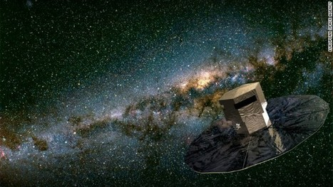 Gaia space telescope's billion pixel camera to map Milky Way | cool stuff from research | Scoop.it