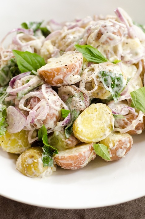 15 Fresh Takes on Potato Salad — Recipes from The Kitchn | ♨ Family & Food ♨ | Scoop.it