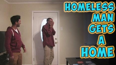 Homeless Man Gets A Home - YouTube | LibertyE Global Renaissance | Scoop.it