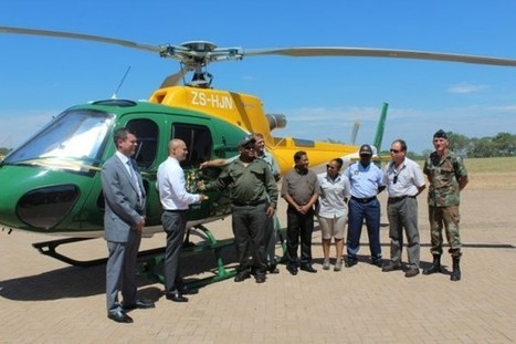 Advanced helicopter to tackle rhino poaching | What's Happening to Africa's Rhino? | Scoop.it
