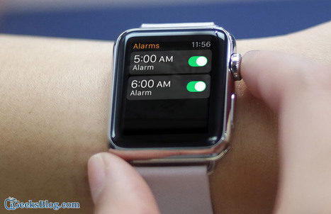 How to Delete Alarms on Apple Watch | iPhone and iPad How-tos | Scoop.it