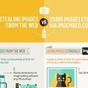 Stealing images from the web vs using images ethically [infographic] | visua.ly | Diseño Web y Social Media | Scoop.it