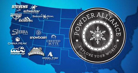 Powder Alliance : 12 stations américaines s'unissent | Tourisme de montagne | Scoop.it
