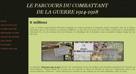 Le Parcours du Combattant de la Guerre 1914-1918 | histoirefamilles | Scoop.it