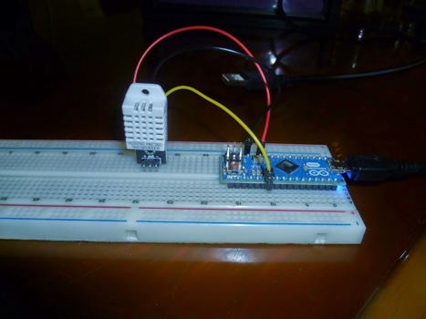 IC Station DHT22 Temperature Humidity   Raspberry Pi   Scoop.it
