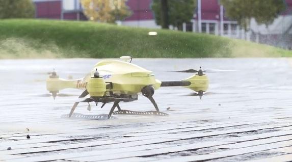 Un drone médical pour venir au secours des victimes d'arrêt cardiaque