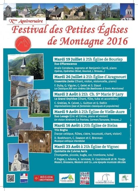 6 concerts pour enchanter votre été en vallée d'Aure et Sobrarbe | Christian Portello | Scoop.it