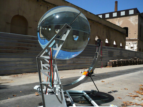 spherical glass solar energy generator by rawlemon | Cool Future Technologies | Scoop.it