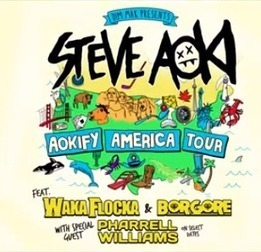 Steve Aoki Announces Aokify America Tour-EDMN | ELECTRONIC DANCE MUSIC NEWS (EDMN) | Scoop.it