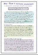 2nd form mid one review exercises - New Spotlight on English | New spotlight on English Tunisia | Scoop.it
