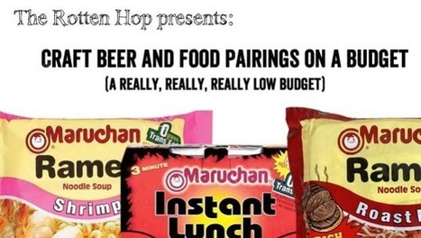 The Rotten Hop » Spotlight: Craft Beer and Food Pairings on a Budget (A Really, Really, Low Budget)   brewbq   Scoop.it