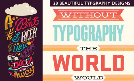 28 Creative Typography designs and illustrations for your inspiration | timms brand design | Scoop.it