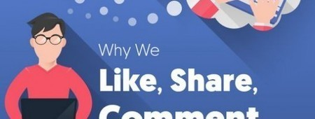 Facebook : Quels motifs poussent les internautes à aimer, commenter et partager ? | Référencement web seo | Scoop.it