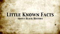 Black History - Little Known Facts: BIO Classroom Full Episodes and Videos - Biography.com | My Umbrella Cockatoo, TIKI | Scoop.it