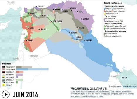 Syrie-Irak : deux années de guerre en cartes | Ciné Schneider | Scoop.it