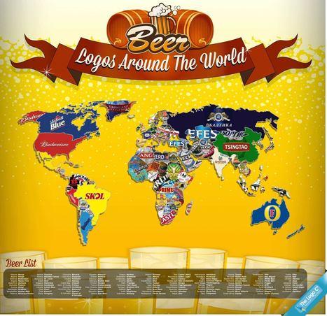 Infografica: ad ogni Paese la sua birra!   Marketing & Web Marketing   Scoop.it