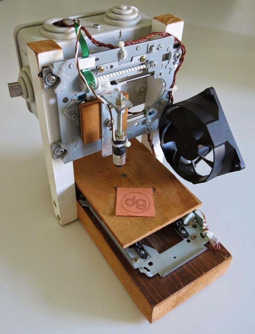 Как сделать из dvd-приводы лазерный гравер