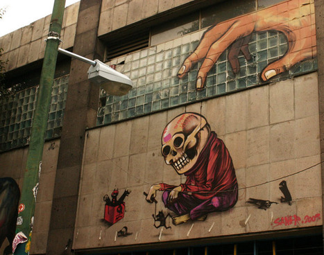 Mexico City : A New Surrealist Face for Street Art | The Joy of Mexico | Scoop.it