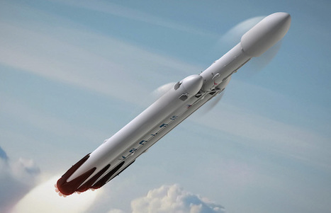 SpaceX undecided on payload for first Falcon Heavy flight | Spaceflight Now | iScience Teacher | Scoop.it