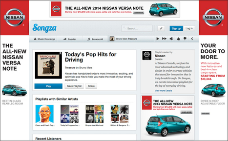 Big Brands Start To Engage Customers For Hours At A Time via Curated Music Playlists | Kit's social | Scoop.it