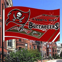 Tampa Bay Buccaneers Flag Field Style 3X5 NFL Banner | Don't Waste Your Time For Bad Businesses | Scoop.it