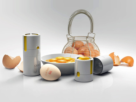 Egg Separator by Tommy Hawes » Yanko Design | Think Differently | Scoop.it