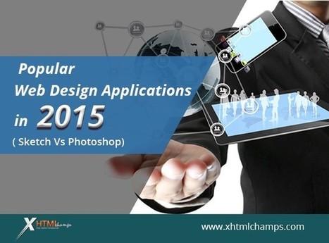 Sketch Vs Photoshop — Popular Web Design Applications in 2015 | Web Design and Development | Scoop.it