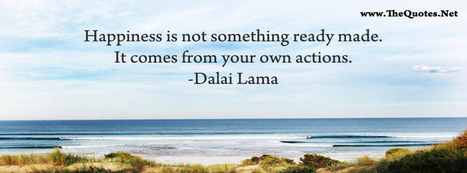 Facebook Cover Image - Happiness Quote From Dalai Lama - TheQuotes.Net | Facebook Cover Photos | Scoop.it