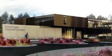 Un autre prix pour l'architecture de la bibliothèque Raymond-Lévesque : Nouvelles : Actualités : FM 103.3 | Bibliothèques en évolution | Scoop.it