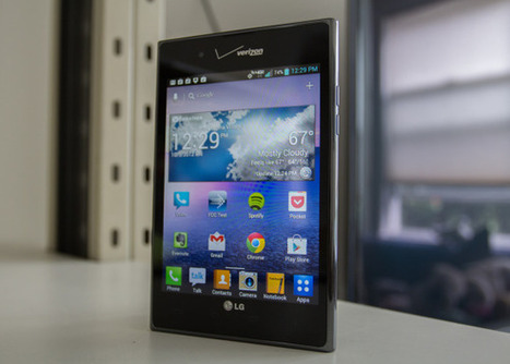 The LG Intuition Review.. size does matter | Mobile IT | Scoop.it