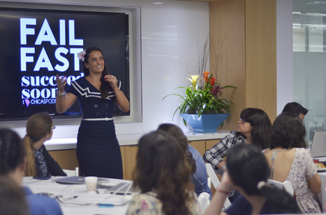 Powerful women connect, create during Chicas' first U.S. event | Frontiers of Journalism | Scoop.it