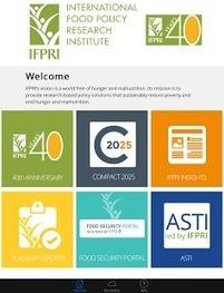 IFPRI App now available! | IFPRI Research | Scoop.it