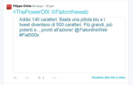 Pimp Your Tweet con 500X: una pillola blu e tutto diventa più...grande! - Civippo | Twitter addicted | Scoop.it