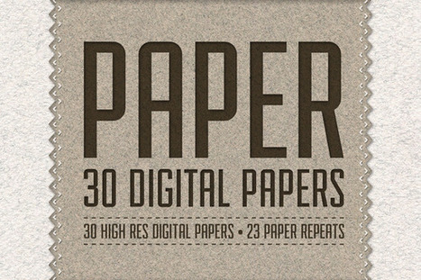 Freebie till 23/6   Paper Pack: 30 Digital Papers HiRes / 23 Seamless   Affordable Business   Scoop.it