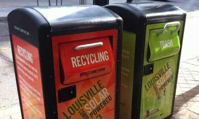 Solar-powered rubbish bins | The Future of Waste | Scoop.it