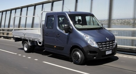 Renault Master ute range launched from $45490 - CarAdvice | Gross Vehicle Mass Upgrades | Scoop.it
