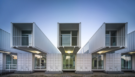 A Modular & Flexible (shipping container) Terminal for the Port of Seville, Spain | sustainable architecture | Scoop.it