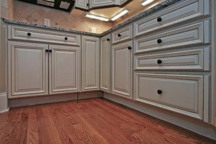 Glazing Kitchen Cabinets Before and After   Home Decorating Ideas   Scoop.it